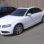 2010 Audi S6 tinted with Llumar 35/20%