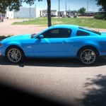 2011 Ford GT Mustang tinted with Optical Technologies 22%