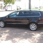 2010 VW Passat wagon rears tinted with 3M 15%