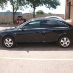 2010 Audi A6 tinted with 3M 35/15%.